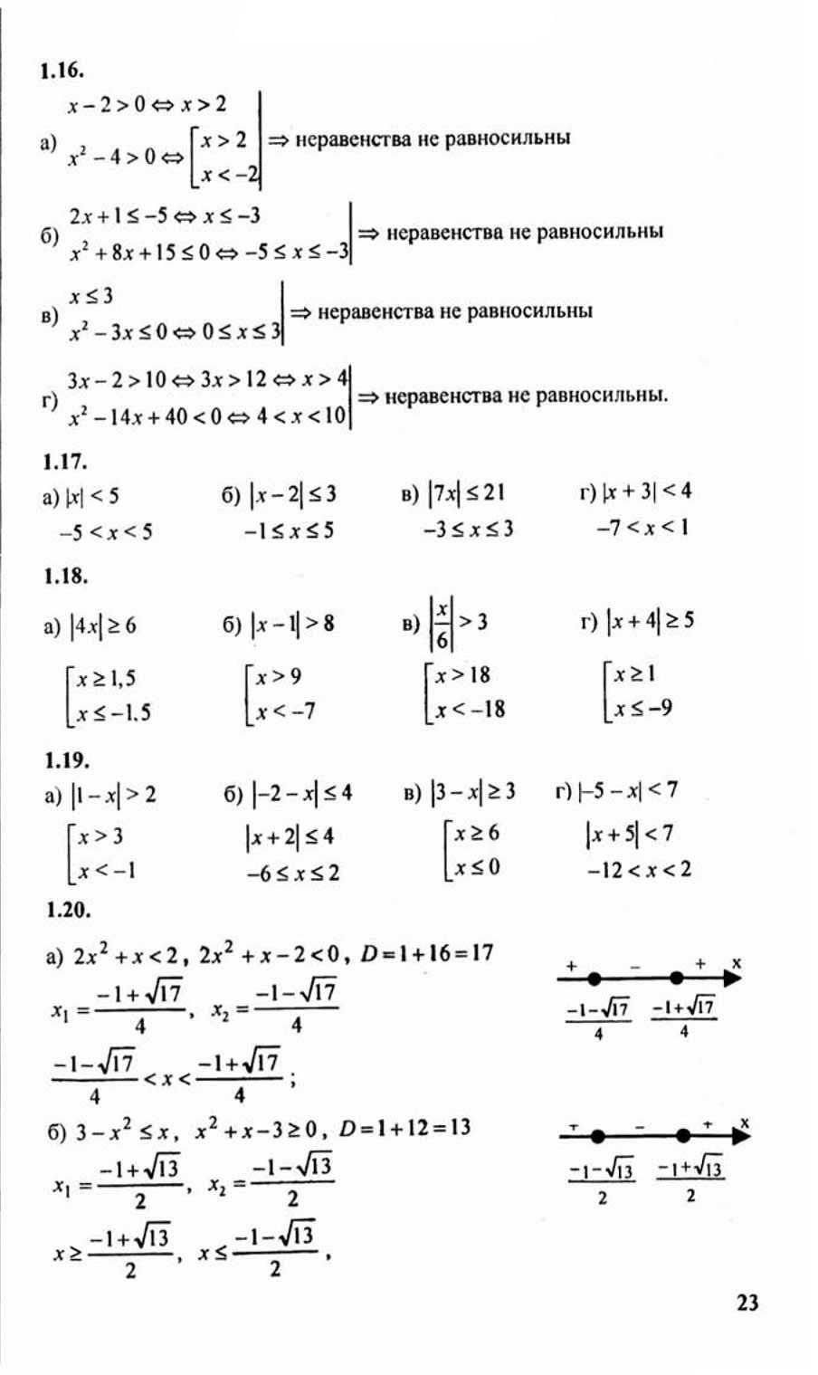 Гдз по алгебре воронина 8 класс гиа